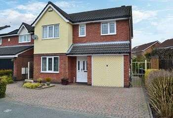 4 Bedrooms Detached House for sale in Parklands Drive, Aspull, Wigan, WN2 1ZA