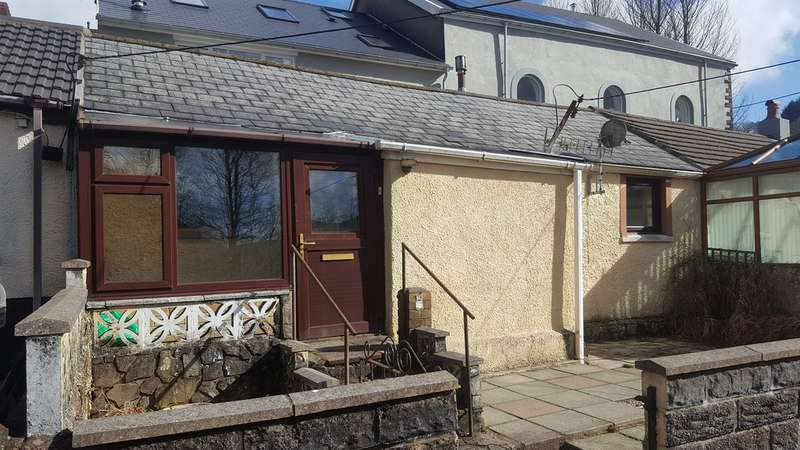 2 Bedrooms Terraced Bungalow for sale in Pantile Row, Glyncorrwg, Port Talbot