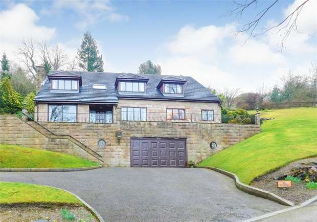 5 Bedrooms Detached House for sale in Riber Road, Starkholmes, Matlock, Derbyshire