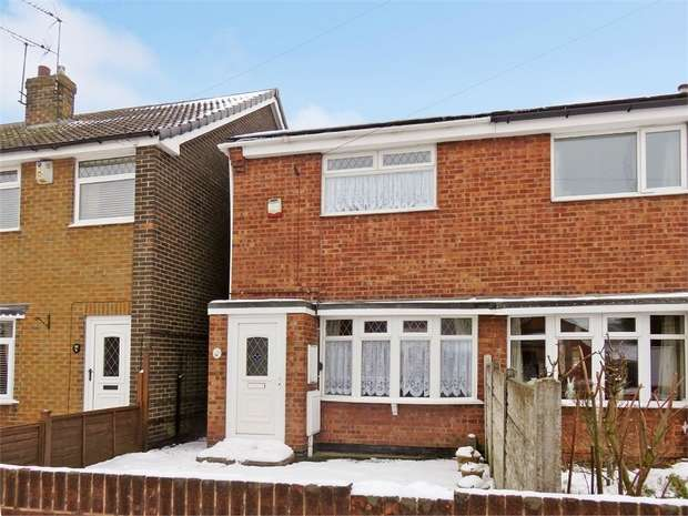 2 Bedrooms Semi Detached House for sale in Albert Street, Stanton Hill, Sutton-in-Ashfield, Nottinghamshire