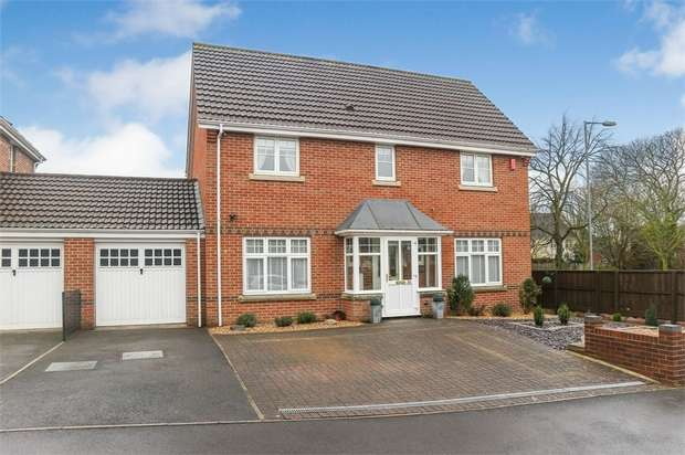 4 Bedrooms Detached House for sale in Willoughby Close, Westbury, Wiltshire