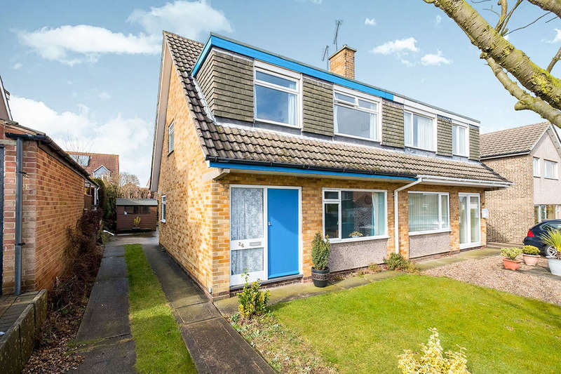 3 Bedrooms Semi Detached House for sale in Windermere Court, North Anston, Sheffield, S25