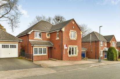 4 Bedrooms Detached House for sale in Church Meadow, Meadowfield, Durham, County Durham, DH7
