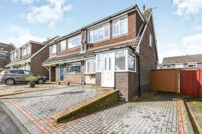 3 Bedrooms Semi Detached House for sale in Cheltenham Crescent, Higher, Runcorn, Cheshire, WA7