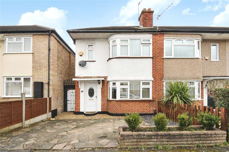 2 Bedrooms End Of Terrace House for sale in Manningtree Road, Ruislip, Middlesex, HA4
