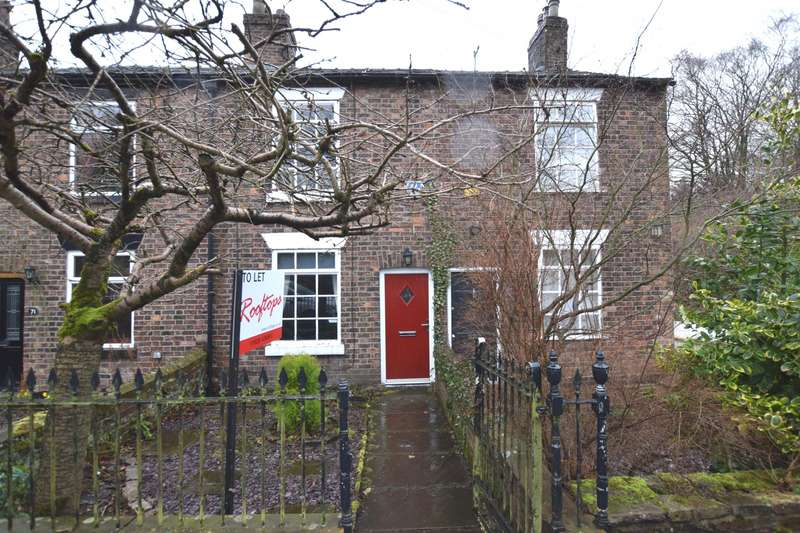 2 Bedrooms Terraced House for rent in Hall Terrace, Langley Road, Langley, Macclesfield