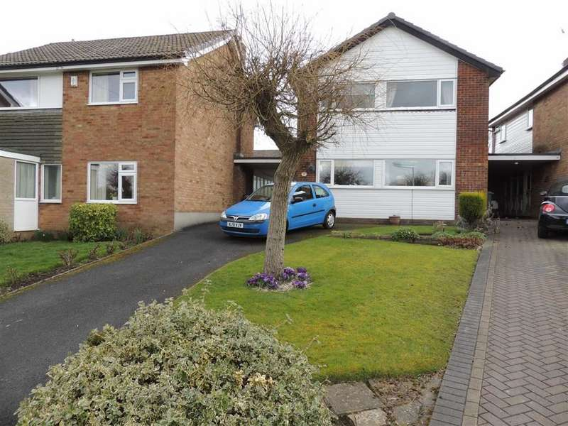 3 Bedrooms Link Detached House for sale in Redcar Close, Hazel Grove, Stockport