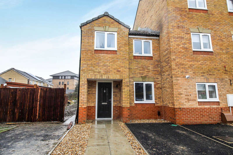 3 Bedrooms End Of Terrace House for sale in Appleton Walk, Western Way