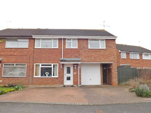 4 Bedrooms Semi Detached House for sale in Laurel Avenue, Evesham