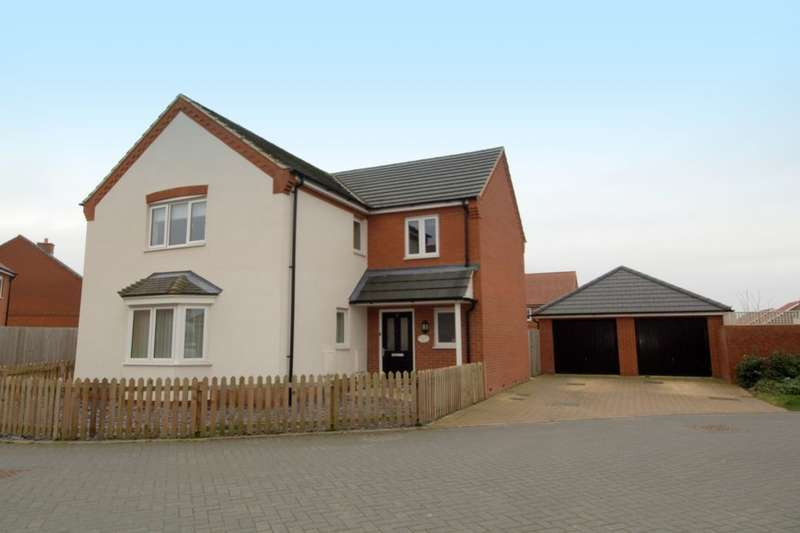 4 Bedrooms Detached House for sale in Daffodil Close, Cringleford, Norwich, NR4