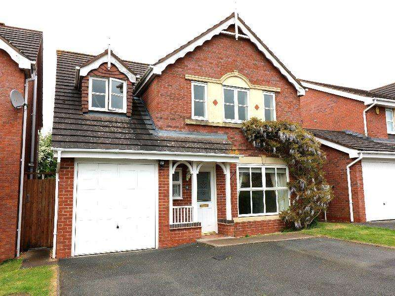 5 Bedrooms Detached House for rent in Willow Bank, Pershore WR10