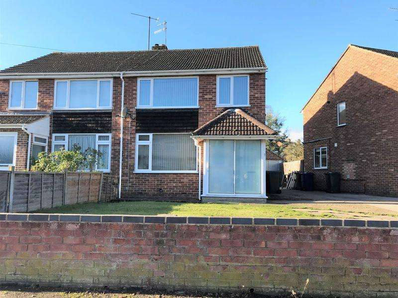 3 Bedrooms Semi Detached House for rent in Hillview Crescent, Banbury