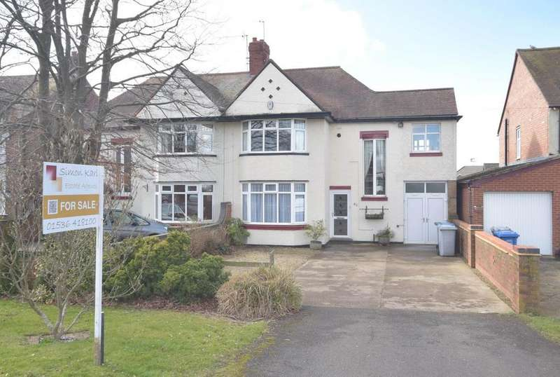 4 Bedrooms Semi Detached House for sale in Harborough Road, Desborough