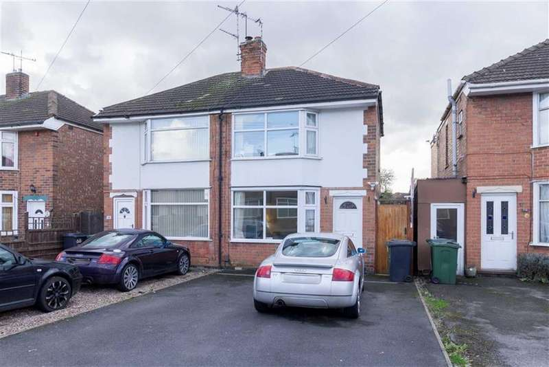 2 Bedrooms Semi Detached House for sale in Bottleacre Lane, Loughborough, LE11