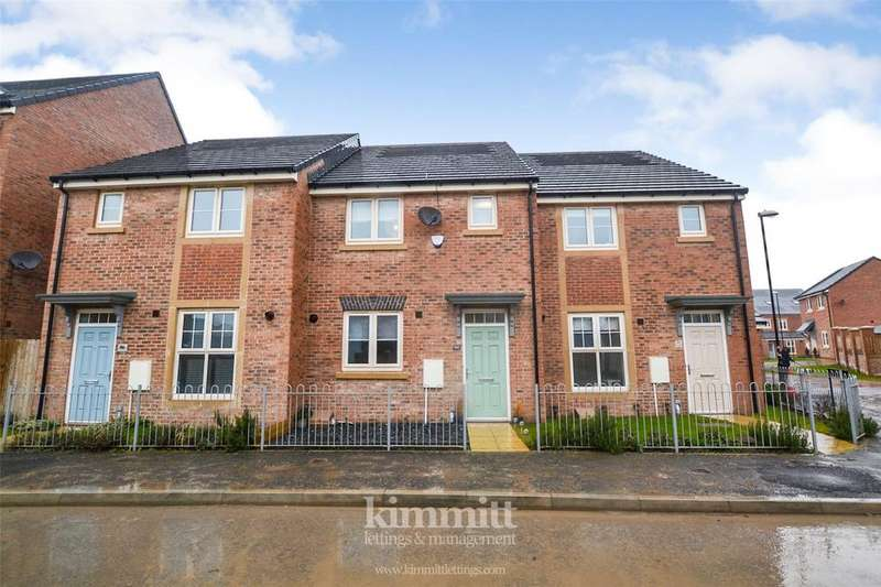 3 Bedrooms Terraced House for rent in Whitworth Park Drive, Houghton Le Spring, Tyne And Wear, DH4