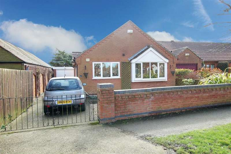 3 Bedrooms Detached Bungalow for sale in Windsor Road, Mablethorpe
