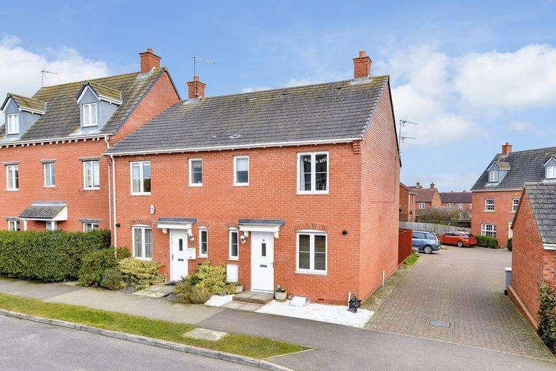 3 Bedrooms Semi Detached House for sale in Rowan Close, Desborough, Kettering
