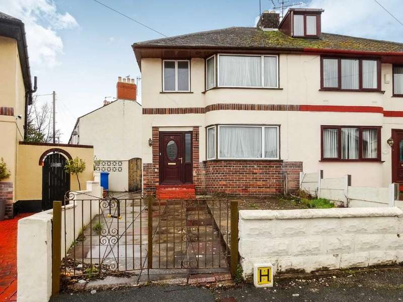 3 Bedrooms Semi Detached House for sale in Brynhyfryd Avenue, Rhyl