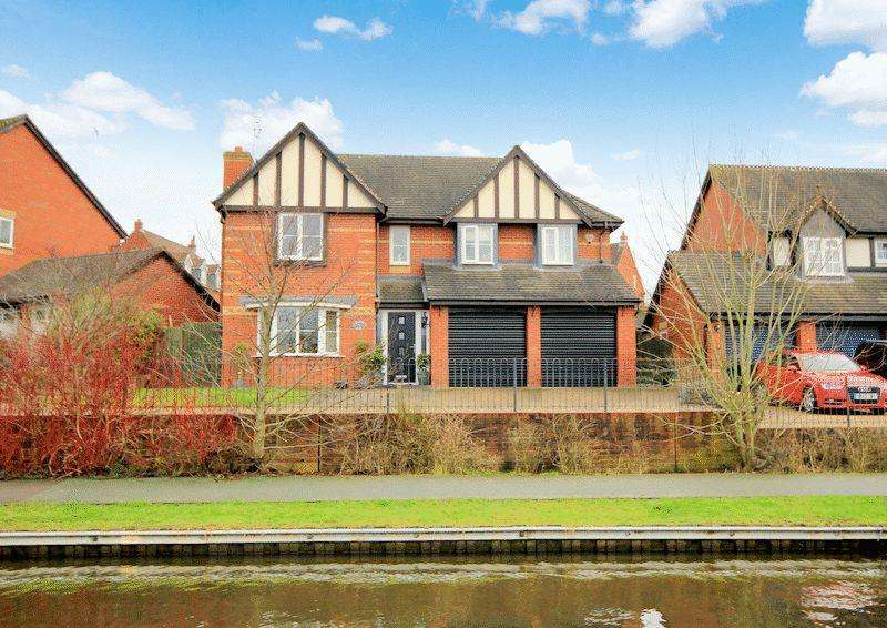 5 Bedrooms Detached House for sale in Barnton Edge, Stone