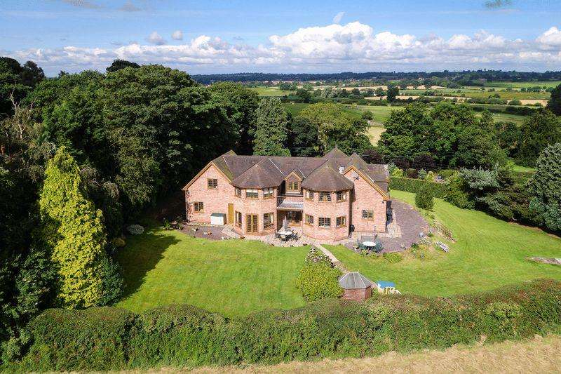 4 Bedrooms Detached House for sale in Minn Bank, Aston, Market Drayton