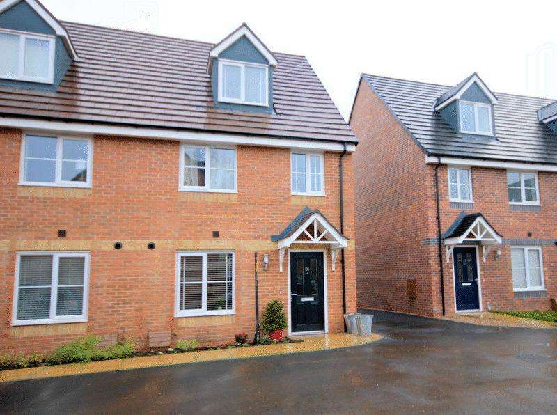 3 Bedrooms Semi Detached House for sale in Burchell Avenue, Stone