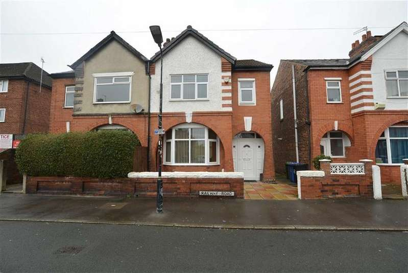 3 Bedrooms Semi Detached House for sale in Railway Road, STRETFORD