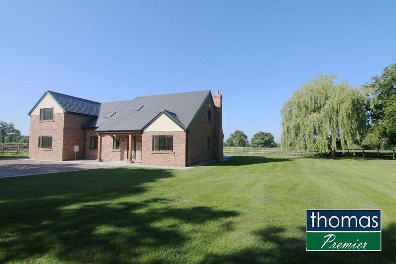 4 Bedrooms Detached House for sale in Rowton Lane, Rowton, Chester, CH3