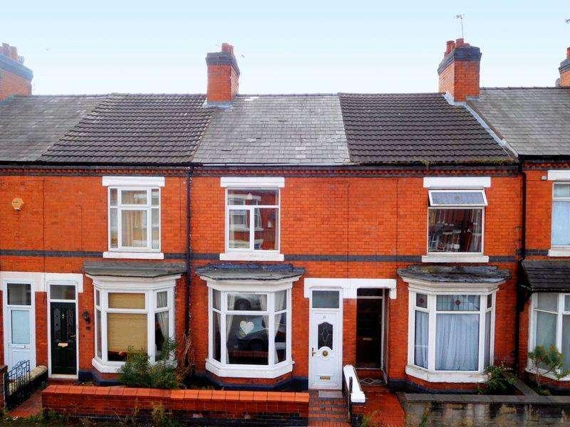 2 Bedrooms Terraced House for sale in Derrington Avenue, Crewe
