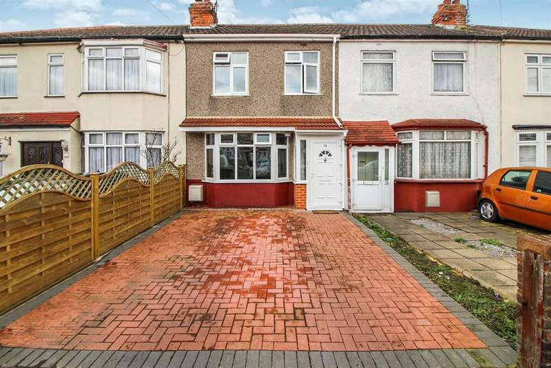 3 Bedrooms Terraced House for sale in Hedworth Avenue, Waltham Cross, Herts EN8
