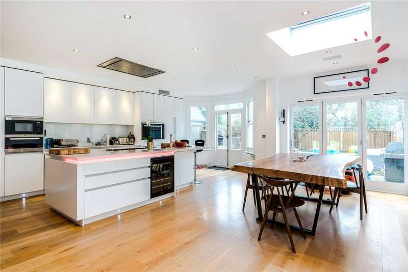 4 Bedrooms Terraced House for sale in Doneraile Street, 'Alphabet Streets', Bishops Park, Fulham, SW6