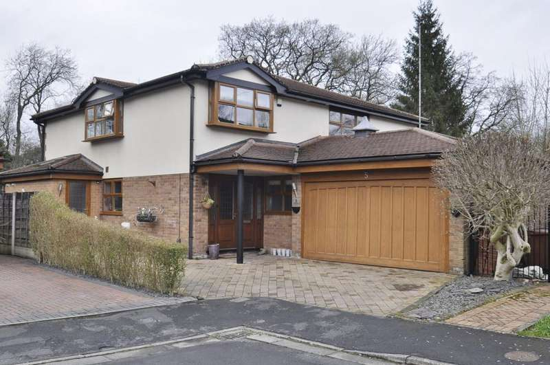 5 Bedrooms Detached House for sale in Poole Close, Bramhall