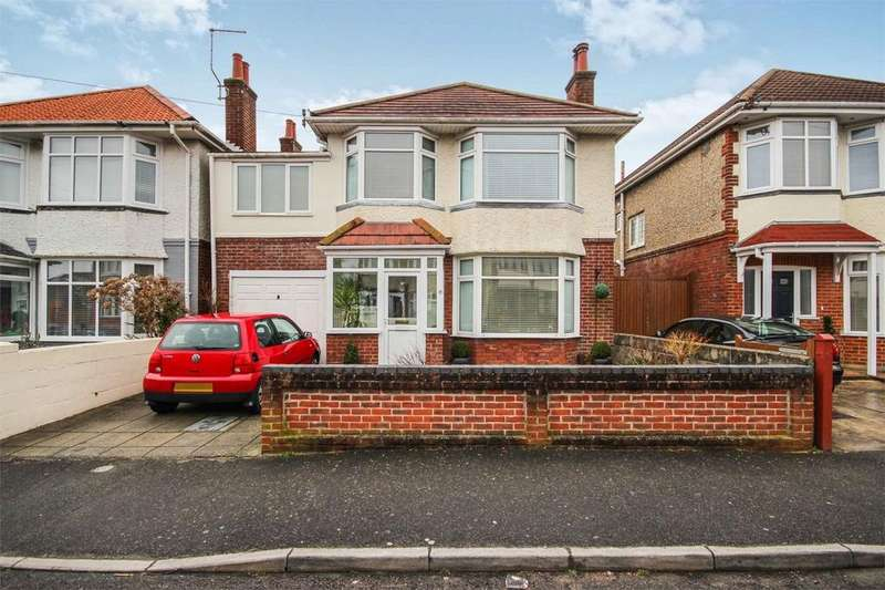 4 Bedrooms Detached House for sale in Morrison Avenue, Parkstone, POOLE, Dorset