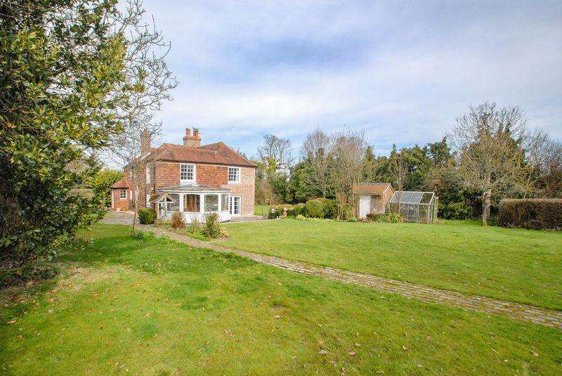 4 Bedrooms Detached House for sale in Henfield Road, Albourne
