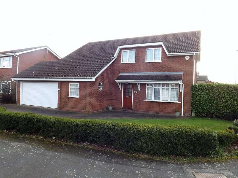 4 Bedrooms Detached House for sale in Pickards Way, Wisbech