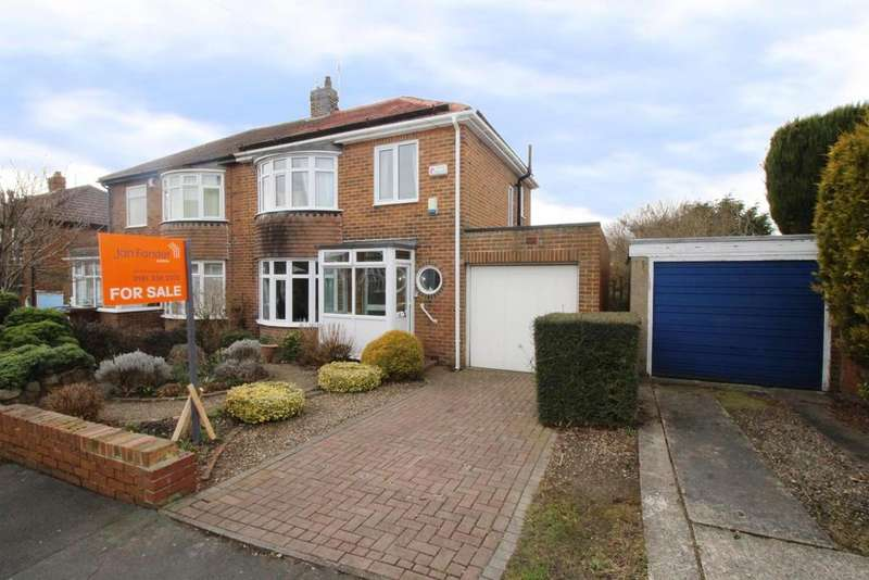 3 Bedrooms Semi Detached House for sale in Westwood Road, Newcastle Upon Tyne
