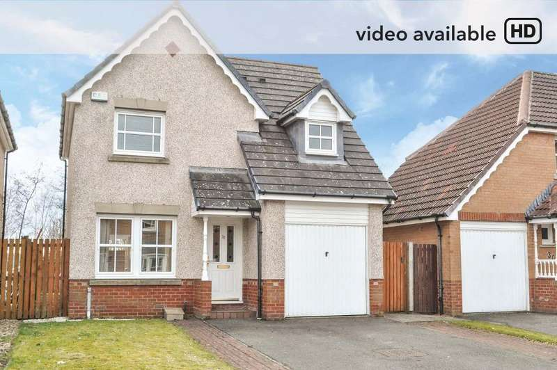 3 Bedrooms Detached House for sale in Jackson Drive, Stepps, North Lanarkshire, G33 6GF