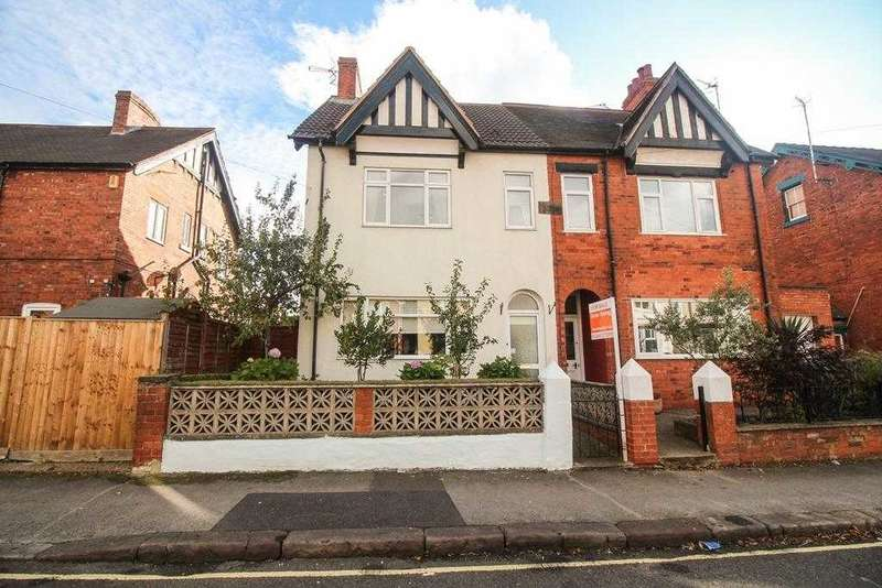 4 Bedrooms Semi Detached House for sale in Fairfield Road, Chesterfield