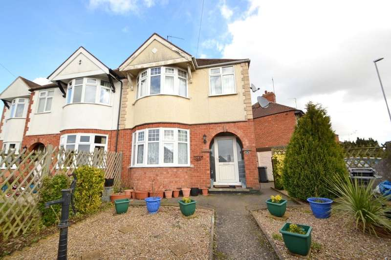 3 Bedrooms Semi Detached House for sale in Thornton Road, Kingsthorpe Hollow, Northampton, NN2