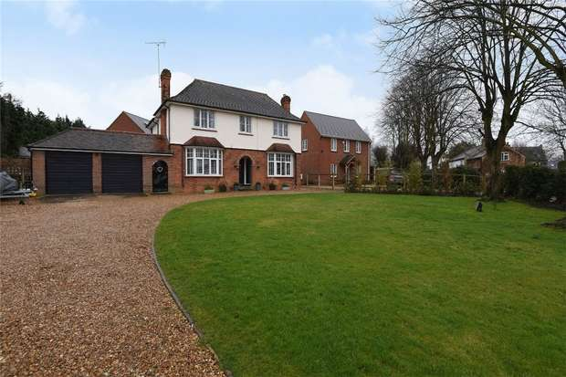 4 Bedrooms Detached House for sale in Rectory Lane, Houghton Conquest, Bedford