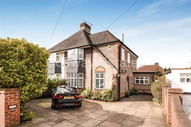 4 Bedrooms Semi Detached House for sale in Marsh Lane, Mill Hill, NW7