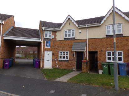 2 Bedrooms Terraced House for sale in All Hallows Drive, Speke, Liverpool, Merseyside, L24
