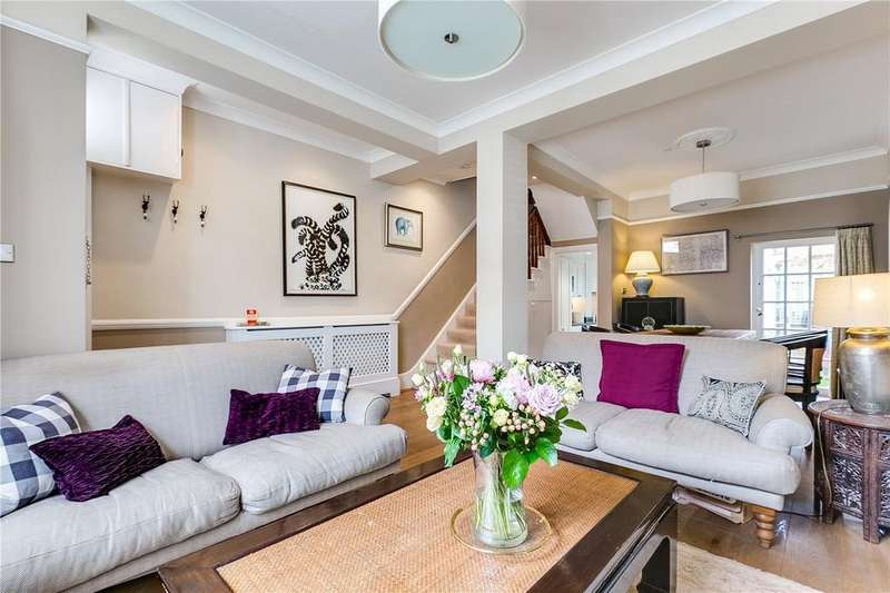 4 Bedrooms Terraced House for sale in Burnthwaite Road, London, SW6