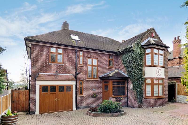 4 Bedrooms Detached House for sale in Tower Road, Burton-on-Trent