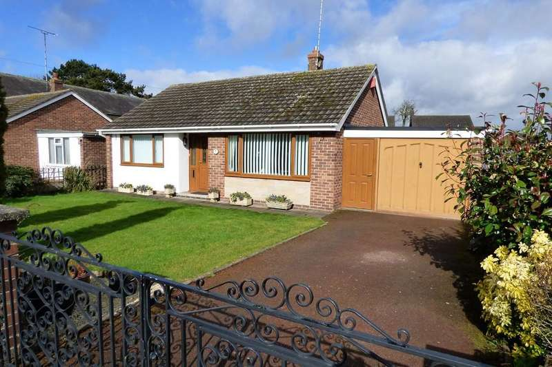 2 Bedrooms Detached Bungalow for sale in Mercia Close, Hatton