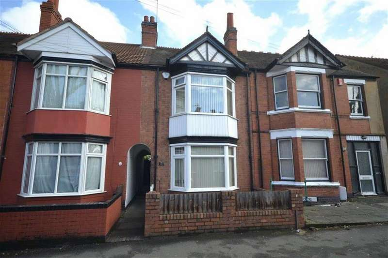 3 Bedrooms Terraced House for sale in Bracebridge Street, Nuneaton