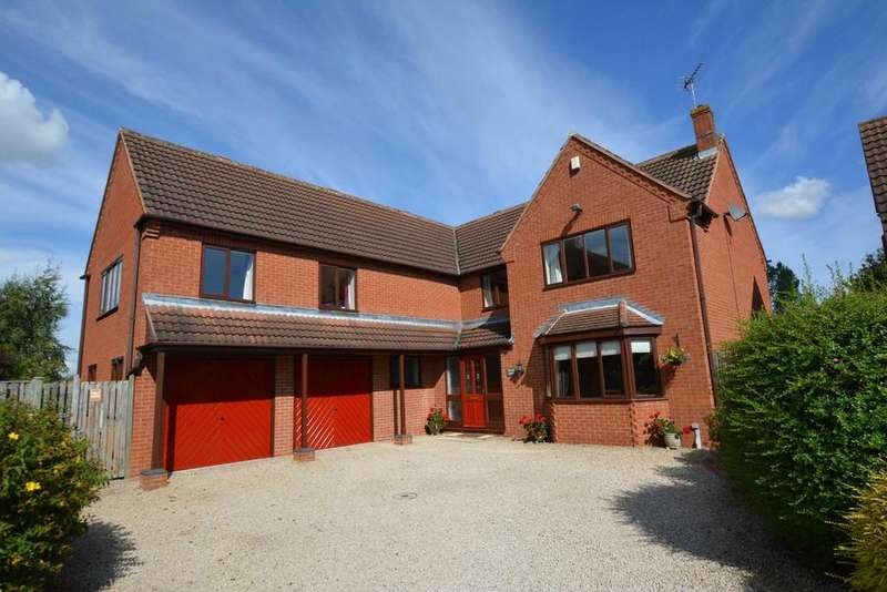 5 Bedrooms Detached House for sale in Manor Farm Close, Rolleston, Newark