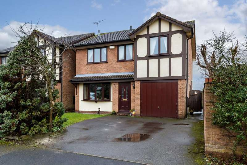 4 Bedrooms Detached House for sale in Crewe, Cheshire