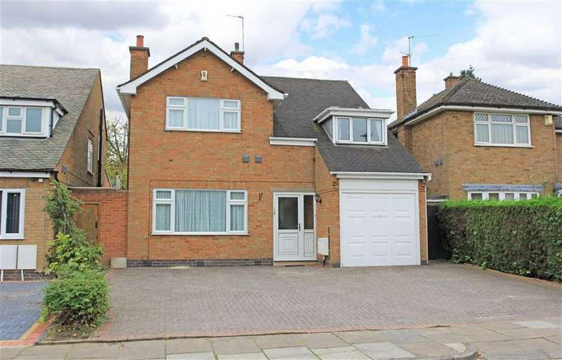 4 Bedrooms Detached House for sale in Asquith Boulevard, Knighton, Leicester