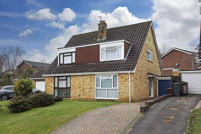 3 Bedrooms Semi Detached House for sale in Southridge Road, Crowborough, East Sussex