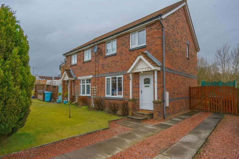 3 Bedrooms Semi Detached House for sale in Eildon Crescent, Chapelhall